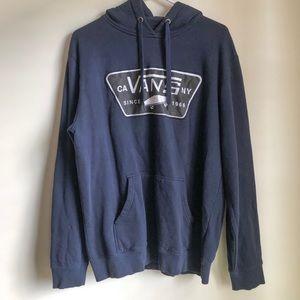 Vans Navy Blue Pullover Hoodie XL